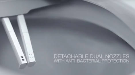 Video:How a SpaLet Bidet Toilet Seat Works