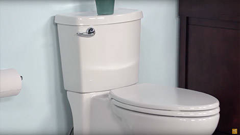 Video:Toilets: Cadet 3 Concealed Trapway Toilet by American Standard